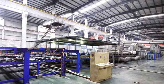 Aluminium coating line