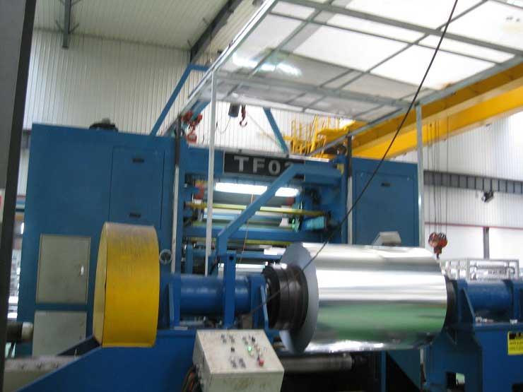 aluminium foil line