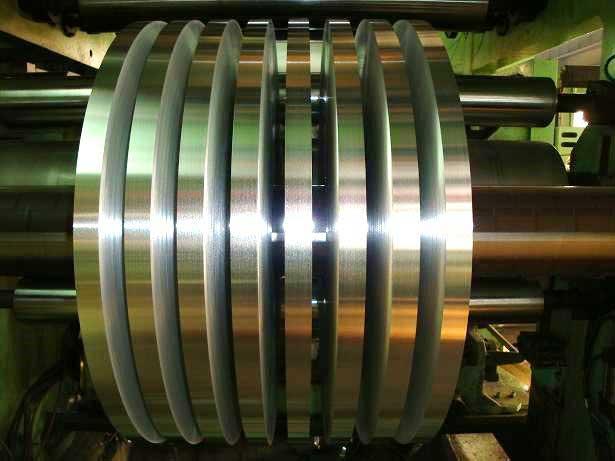 aluminium foil sliting line