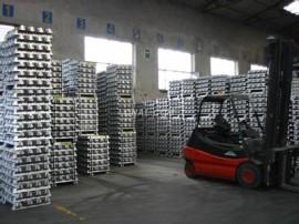 aluminium ignot import