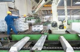 aluminium ignot production