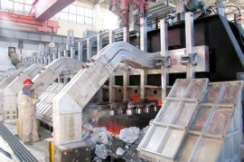 electrolytic aluminium production