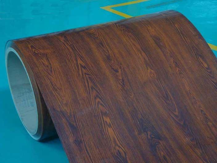 wooden aluminium coil